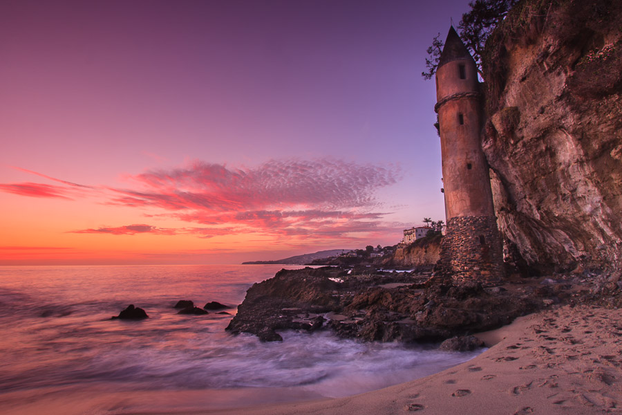 Victorian Tower - Victoria Beach, California