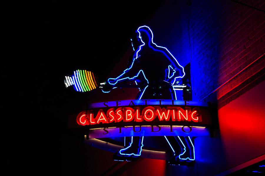 Seattle Glass Blowing Studio