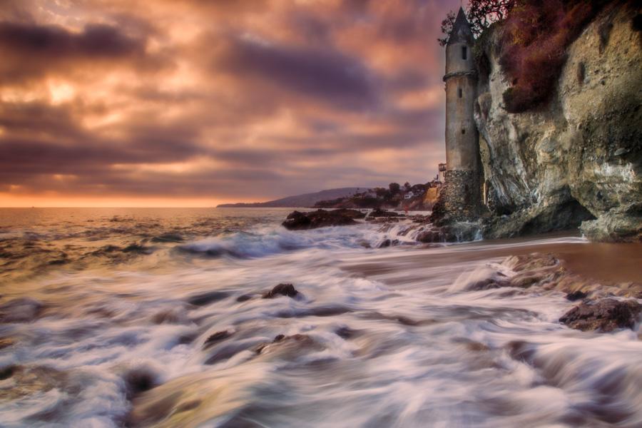 Victoria's Sunset | Laguna Beach, California
