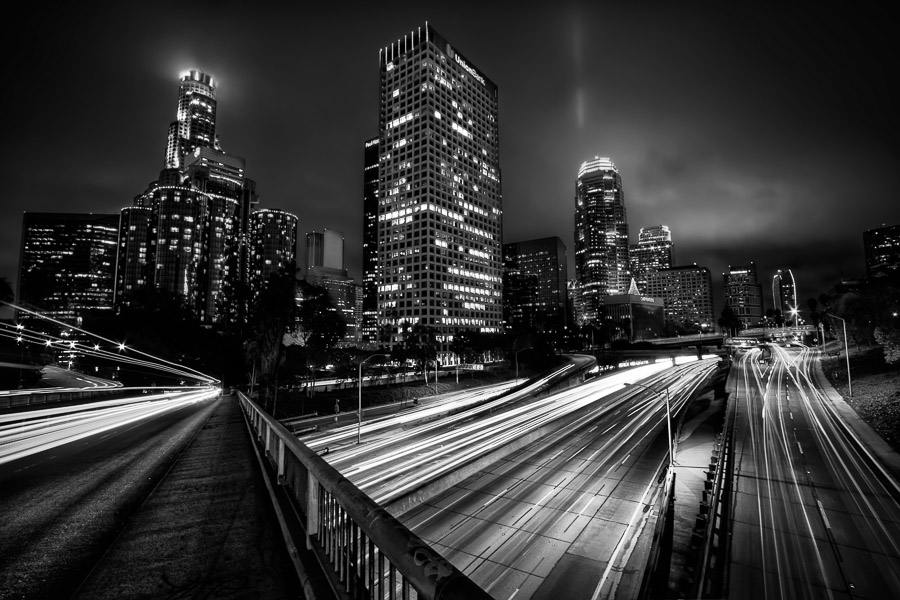 4th Street Overpass, Downtown L.A.