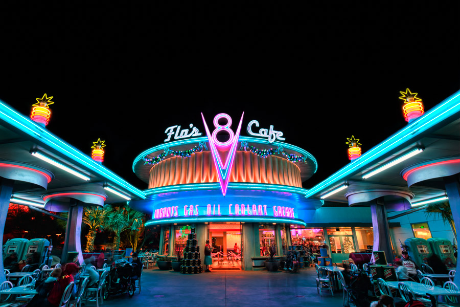 Flo's V8 Cafe, Disney's California Adventure