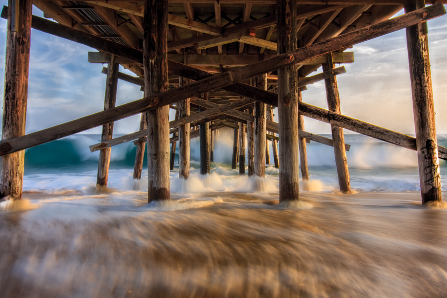 Under the Boardwalk | Balboa Peninsula, California